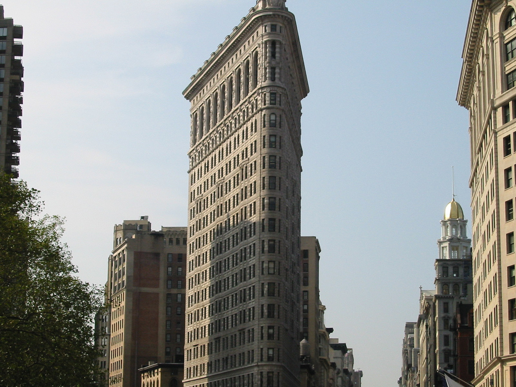 Flatiron building is considered to be one of the first for New home construction insurance