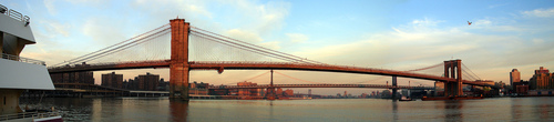 Brooklyn Bridge Opened To Great Fanfare In May 24, 1883, Construction Began On January 3, 1870