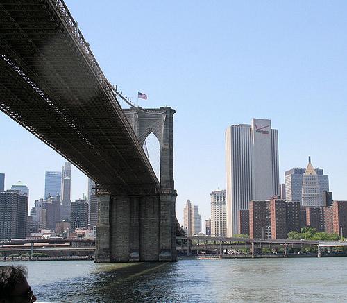 Brooklyn Bridge, Designed By John Augustus Roebling, Opened In May 24, 1883