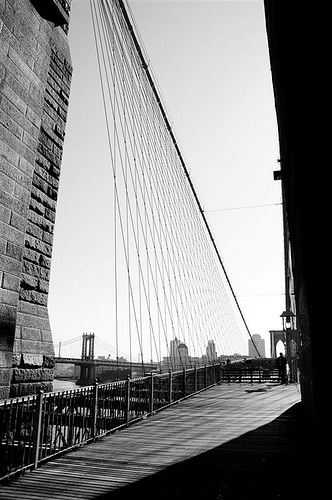 Brooklyn Bridge Was Completed Thirteen Years Later And  Was Opened For Use On May 24, 1883