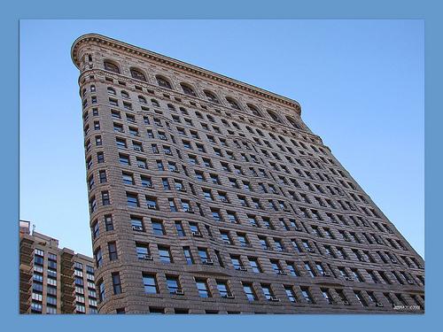 Flatiron Building Was Designed By Chicago's Daniel Burnham In The Beaux-arts Style