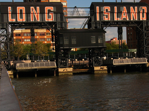 The Docking Point For The Long Island Ferry