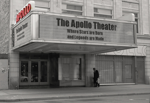 The Person Stranded Apollo Theater
