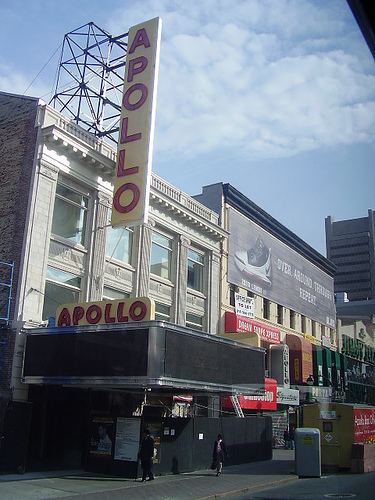 Step And Check Out The Great Apollo Theater.