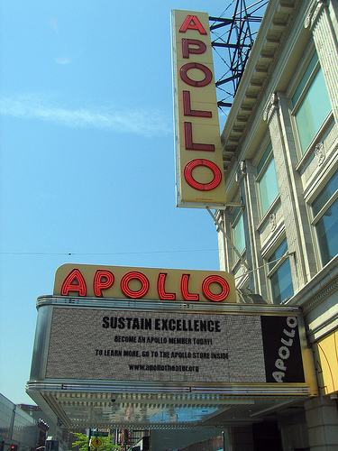 Picture Of Apollo Theater, Which Was One Of Most Famous Music Hall Located In New York