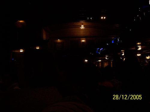 Interior Sight Of Broadway Theatre At Run!!
