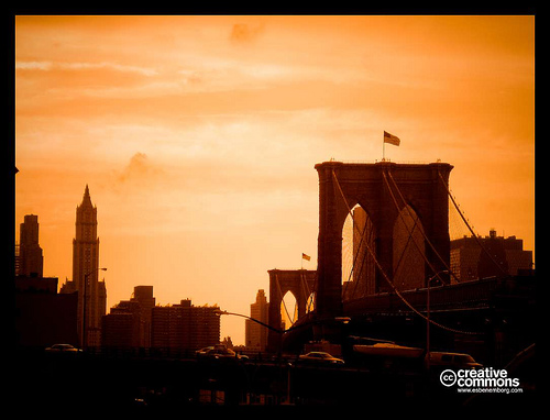 The Brooklyn Bridge Is One Of The Oldest Suspension Bridges In The United States.