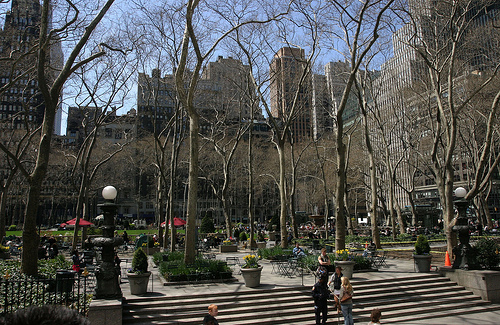 Terraces At Historic Bryant Park, Public Space Since The 1600's