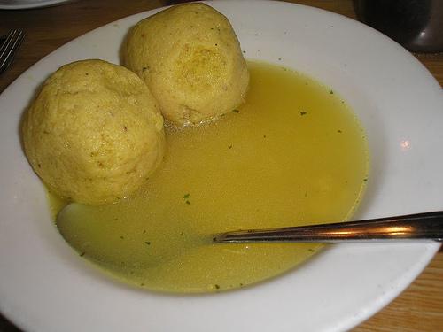 Matzo Ball Soup Is A Staple At Carnegie Deli.