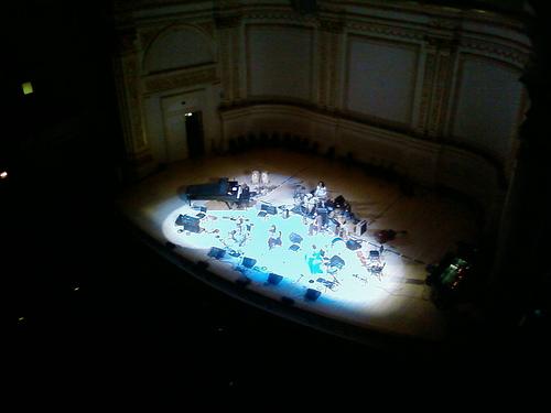 Devendra Branhart Playing Carnegie Hall