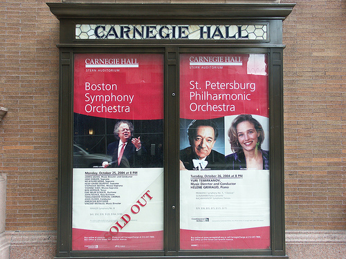 The Music Lover's Will Definitely Not Want To Miss A Trip To Carnegie Hall.