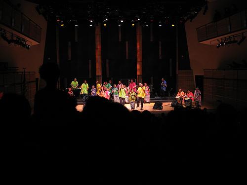 Gospel Choir Performs In Carnegie Hall
