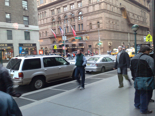 New York In The Morning, Carnegie Hall In The Background
