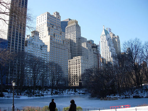 It's Cold But Still A Great Look At Central Park South.