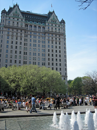 Central Park South Is The Section Of 59th Street In The Borough Of Manhattan, New York City.