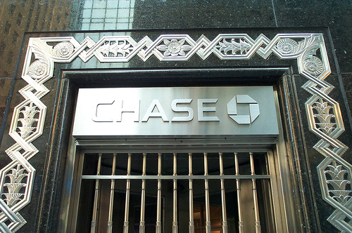The Front Of The Chase Manhattan Building.