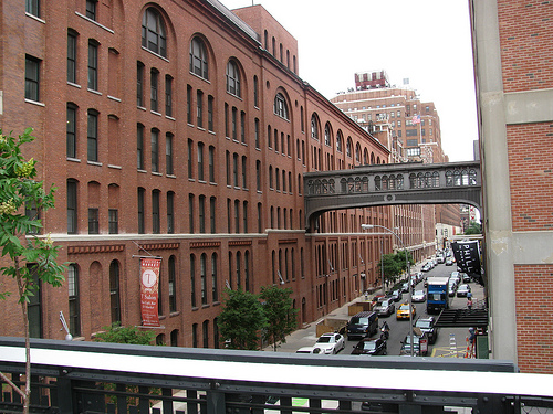 Formerly The Nabisco Factory, Now Chelsea Market Is Primarily A Shopping Mall & Food Court