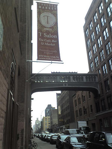 Chelsea Market Is An Enclosed, Urban Food Court And Shopping Mall In New York City.