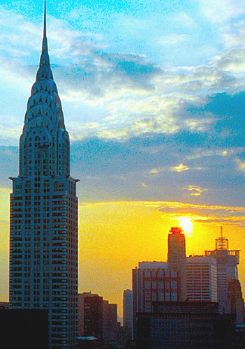 The Chrysler Building Was Once The Worlds Tallest Building Until The Empire State Building Opened