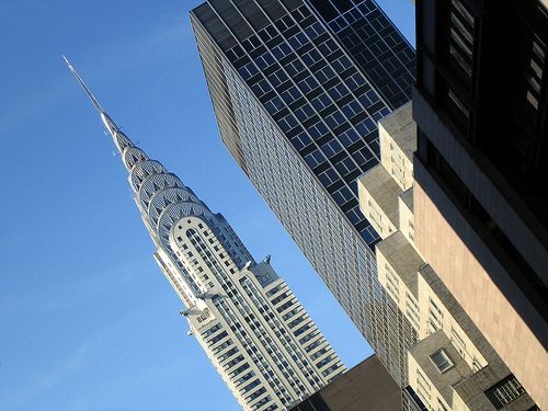 Picture The Outside Of The Chrysler Building