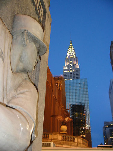 Chrysler Building, Which Was The World's Tallest Building From 27 May 1930 To 1931