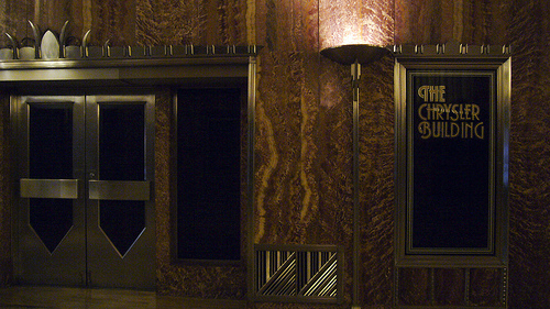 Art Deco Architecture At Its Finest At The Chrysler Building