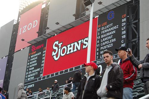St. John's University Hosts Georgetown U., At Citi Field In Queens