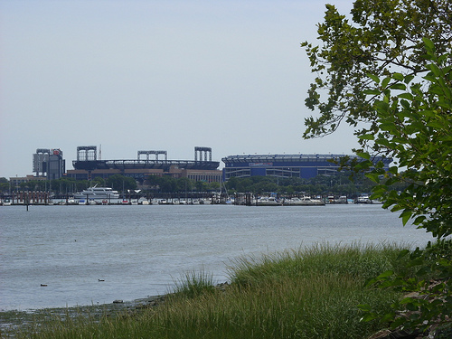 Citi Field From Across The Lake.