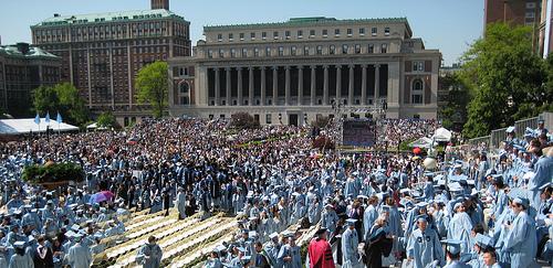 Graduation Day At Columbia University.