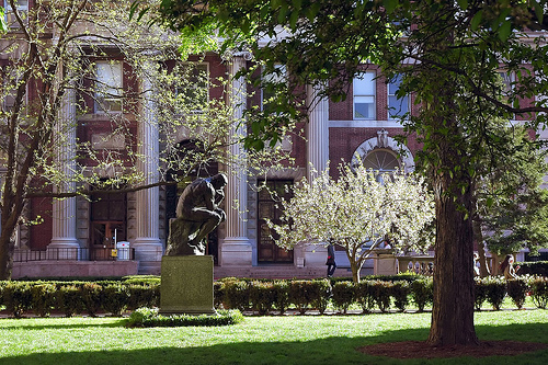 What A Perfect Day To Enjoy Columbus University Campus.