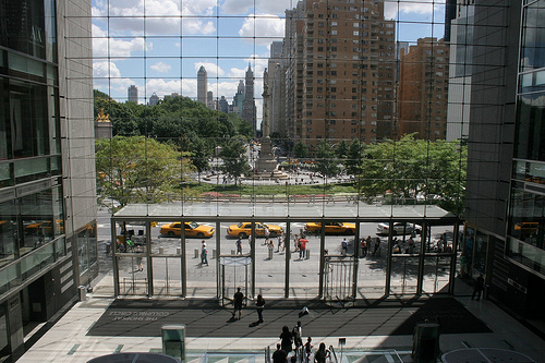 Columbus Circle: View From The Time Warner Building