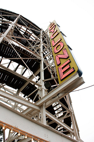 It Is Worth The Wait To Ride The Coney Island Cyclone.