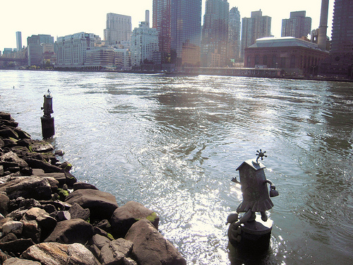 The East River Is A Tidal Straight That Separates Long Island, Manhattan, And The Mainland.