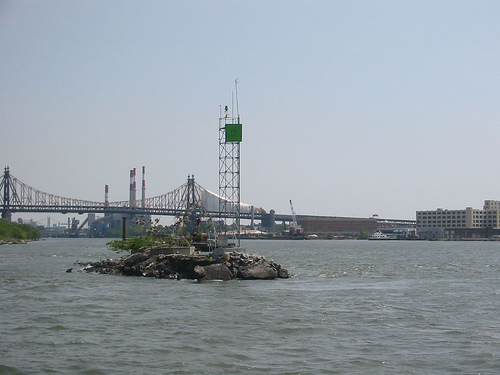 A Bridge Crossing Over The East River.