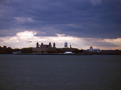 Ellis Island, The Requisite Immigration Stop For The First Half Of The 20th Century