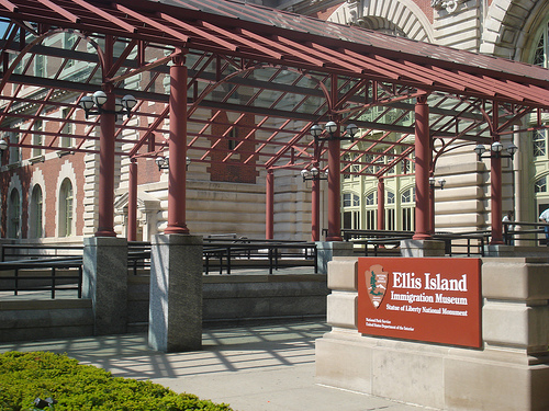 Entry Way To Ellis Island Immigration Museum