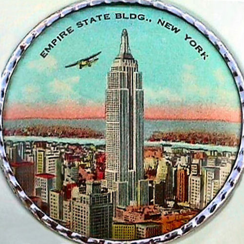 A Look Back At The Empire State Building On This Item.