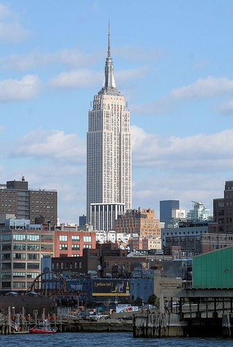 The Empire State Building, A New York Landmark Since 1931.