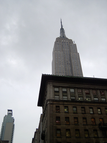 From Here You Can See The Top Of The Empire State Building
