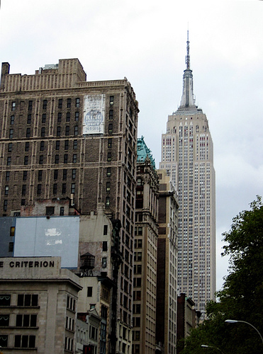 The Empire State Building - Once Again The Tallest Structure In New York.