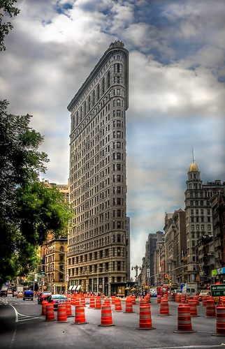 A Daytime View Of The Flatiron Building