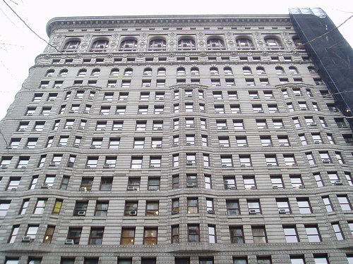 The Flatiron Building Is A National Landmark.