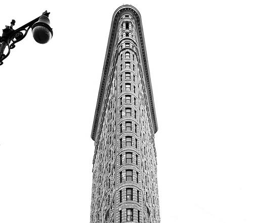 Black And White Of The Flatiron Building, Aka Fuller