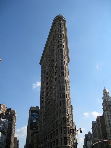 The Flatiron Building Was One Of The First Skyscrapers To Ever Be Built!