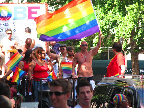 The Colorful Gay Pride Parade Marches Down Fifth Avenue