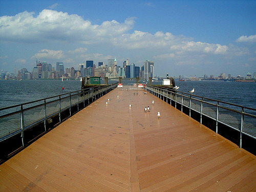 Here Is Where It All Began At Liberty Island.