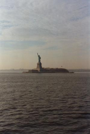 Liberty Island, The Island Has A Land Area Of 59,558 Square Meters