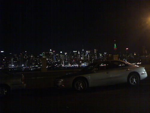 Looking Toward Downtown From Lincoln Tunnel In Awe.