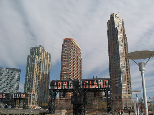 Long Island Is The Marvelous Place With Amazing Skyscrapers.