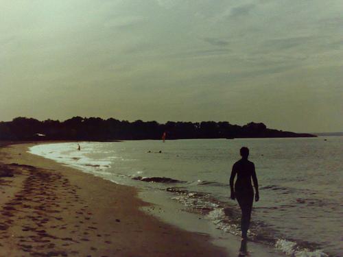 A Historic Photo Of A North Long Island Beach